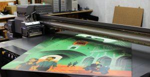 Tableau imprimé sur plexiglass